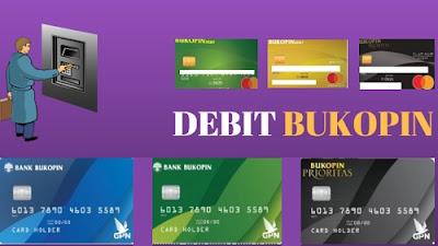 Jenis kartu atm bank Bukopin