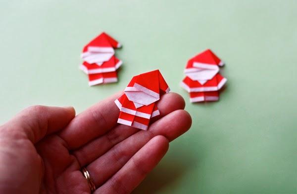 origami for kids christmas