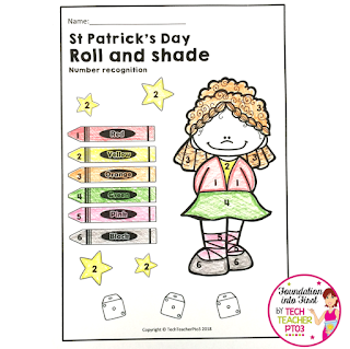 St Patrick's Day ideas for early years classroom. Perfect for primary school teachers, download free St Patrick day ideas.