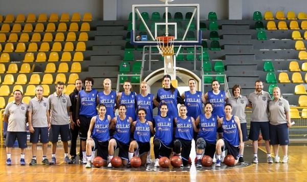Οι αθλήτριες που απαρτίζουν την αποστολή της Εθνικής Γυναικών για το Ευρωμπάσκετ της Τσεχίας