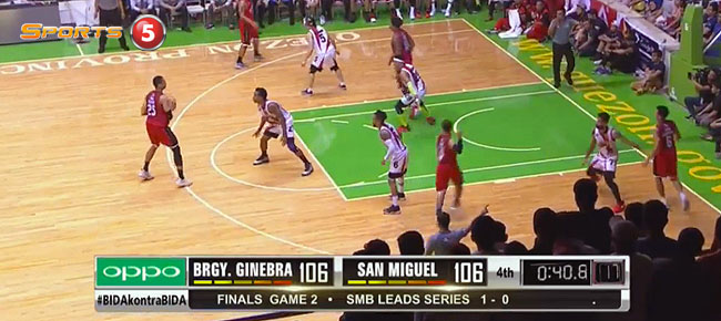 Ginebra def. San Miguel, 124-118 in OT (REPLAY VIDEO) Finals Game 2 / February 26