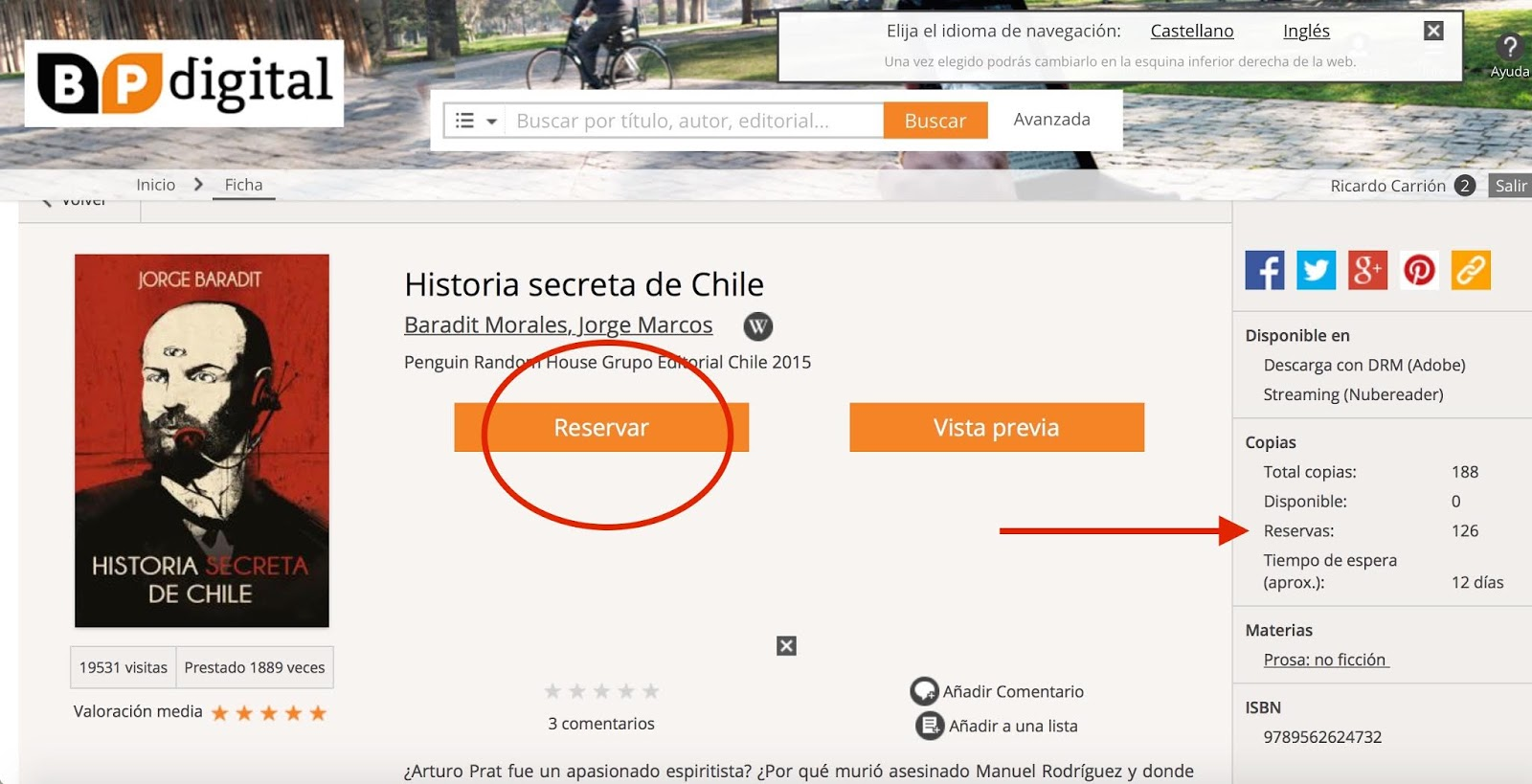 Elige Un Libro: Libros Digitales Gratis En Chile