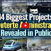 Must Watch: 14 Biggest Project ng Duterte Admin Na hindi Pinakita sa TV