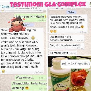 GLA Complex Shaklee | Kebaikan, Perbezaan, Testimoni, Harga