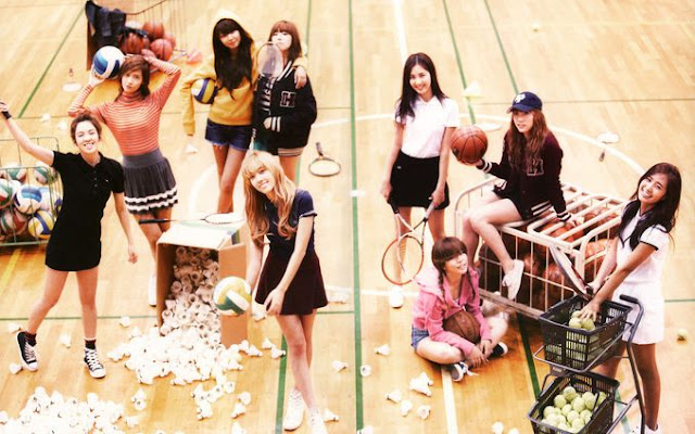 Lirik Lagu The Great Escape ~ Girls' Generation