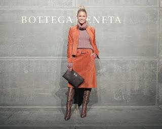 Helena Bordon At Bottega Veneta Show At New York Fashion Week 2018