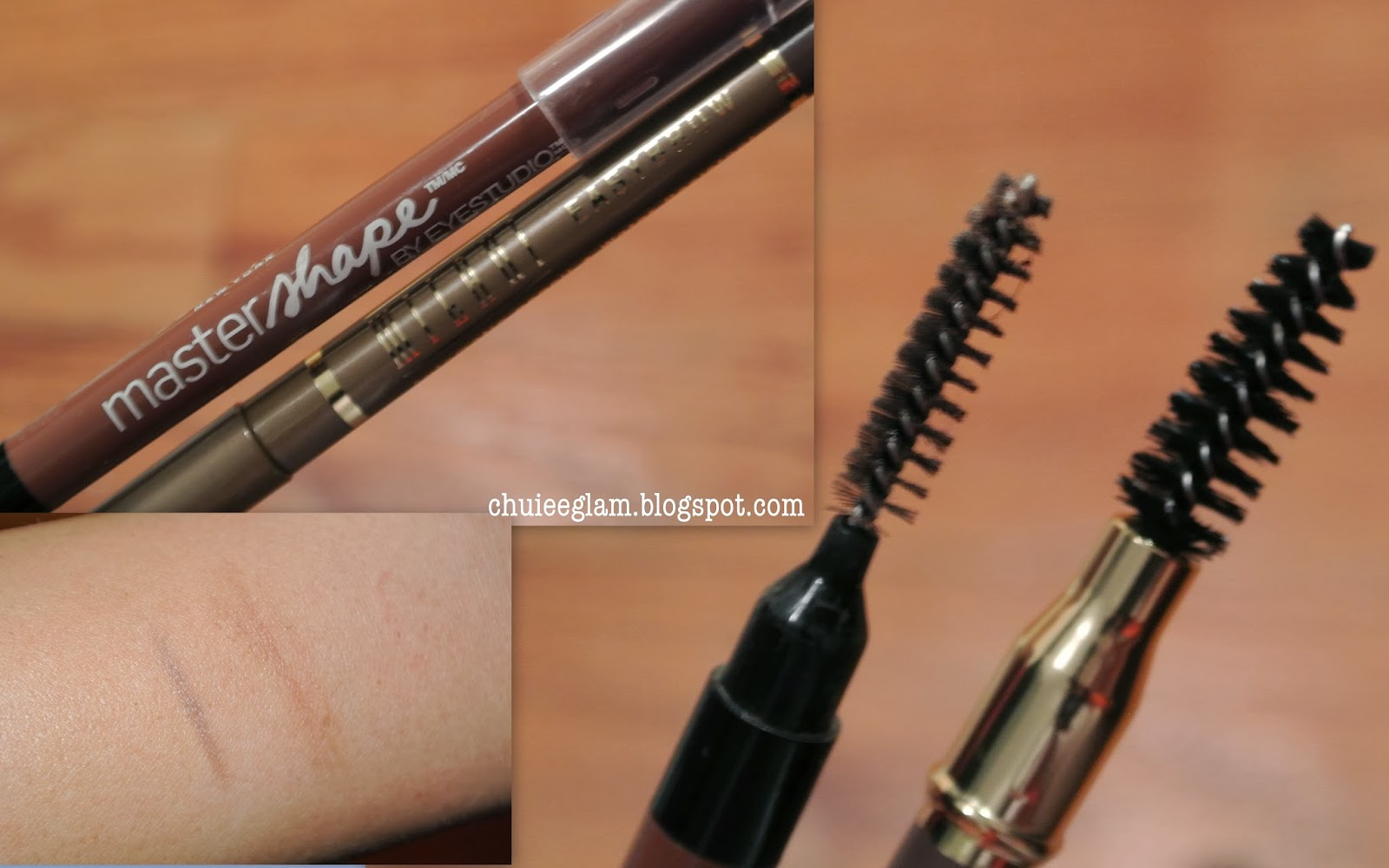 Poppin Brows Milani Vs Maybelline Eyebrow Pencil Chuiee Glam