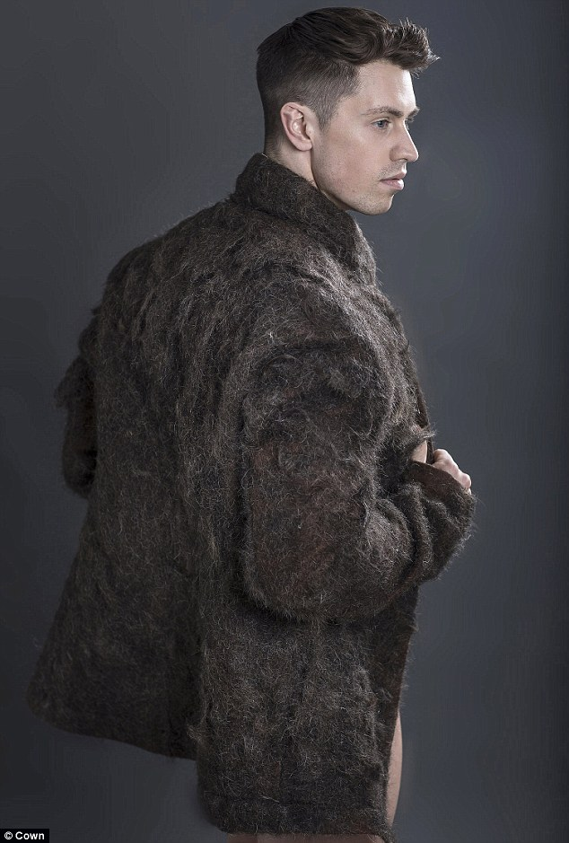 Fur Coat Is Made Entirely from Men's Chest Hair
