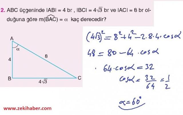11. Sınıf Top Yayınları Matematik 50. Sayfa Cevapları 1. Ünite
