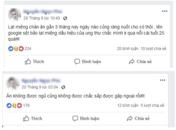 Status dự cảm về cái chết của Phú