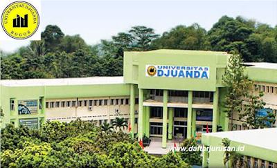 Daftar Fakultas dan Program Studi UNIDA Universitas Djuanda Bogor