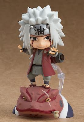 "Nendoroid Jiraiya & Gamabunta Set de ""Naruto Shippuden"" - Good Smile Company"