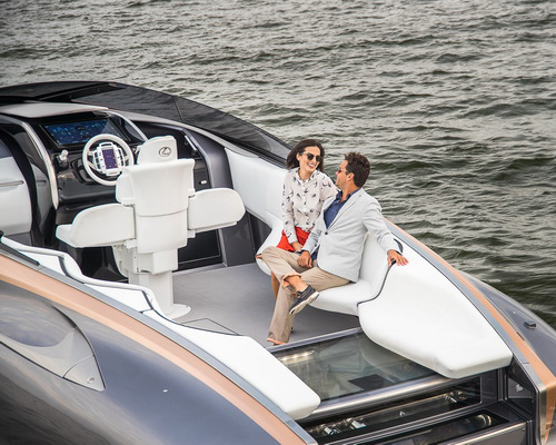 Tinuku.com Lexus V8 Sport Yacht Concept to bring tradition of luxury lifestyle brand into maritime premium segment