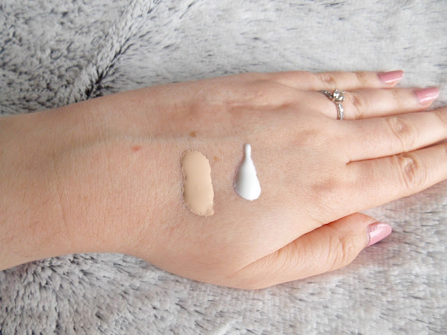 SPF and Foundation Swatches