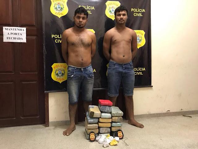 FEIJÓ: OPERAÇÃO DA POLÍCIA CIVIL APREENDE MAIS DE 18KG DE DROGA NA BR 364