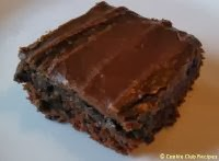Zucchini Brownies Recipe with Chocolate Frosting