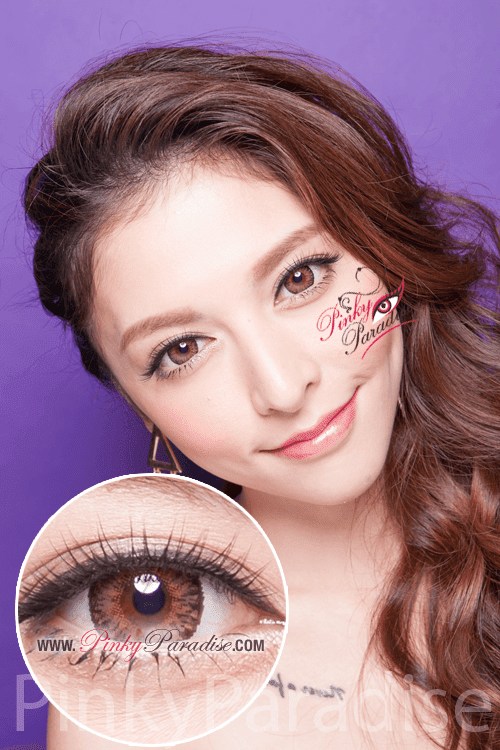 G&G Aurora Brown Circle Lenses (Colored Contacts)