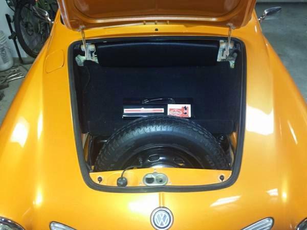 Restored 1970 Vw Karmann Ghia Convertible