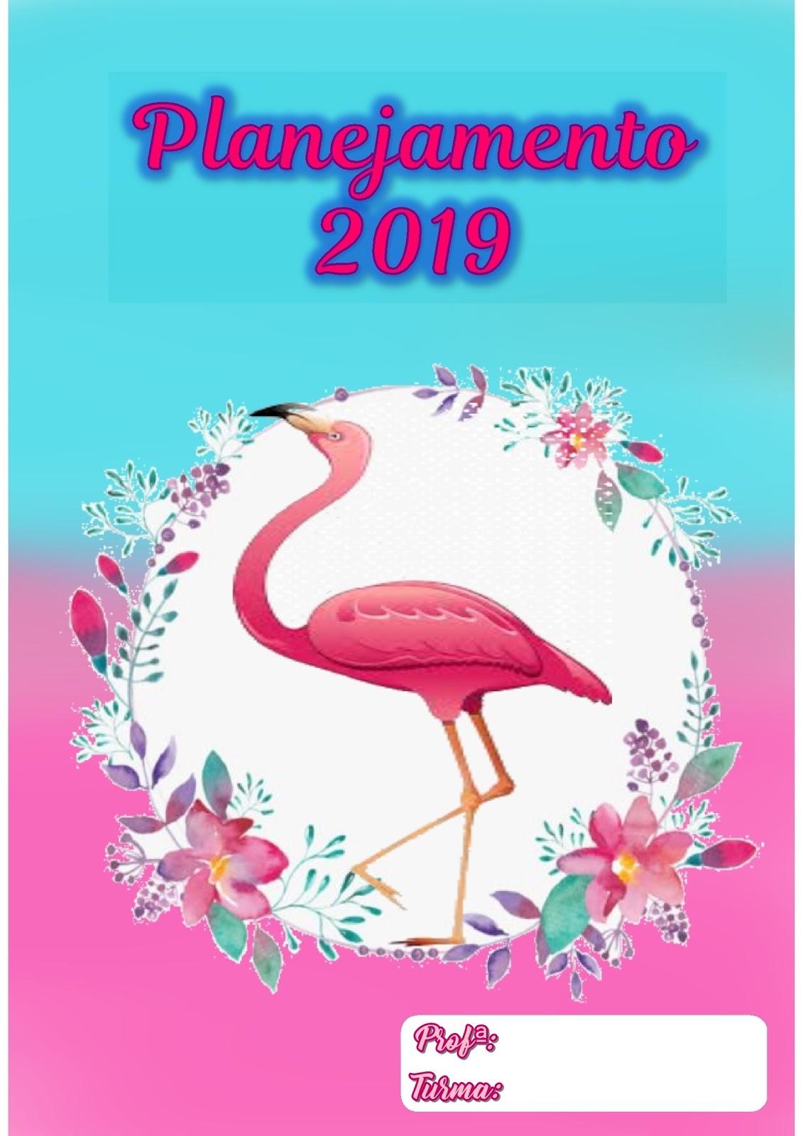Pedagogas Da Paz Planner Gratuito De Flamingo 2020 Planner