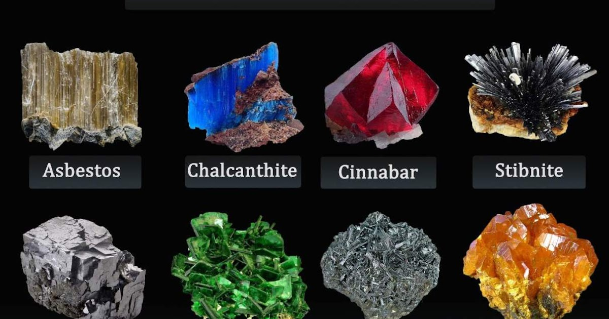 The World's 10 Most Deadly Minerals