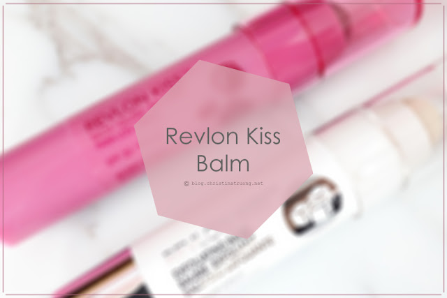 Revlon Kiss Balm Exfoliating Balm Duo Pack Review | Christina Truong