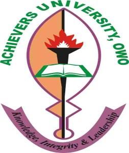Achievers University Notice to Graduands
