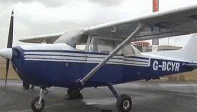 Passenger lands plane after pilot falls ill