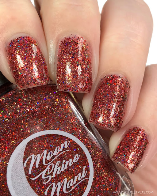 Moon Shine Mani The Santa Clause