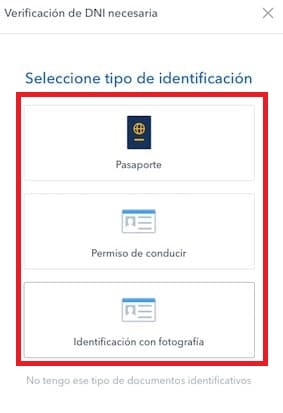 verificar identidad nuevo usuario comprar Enjin Coin