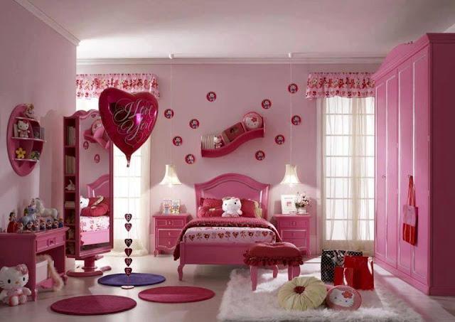 Genç kızlar için oda tavsiyesi