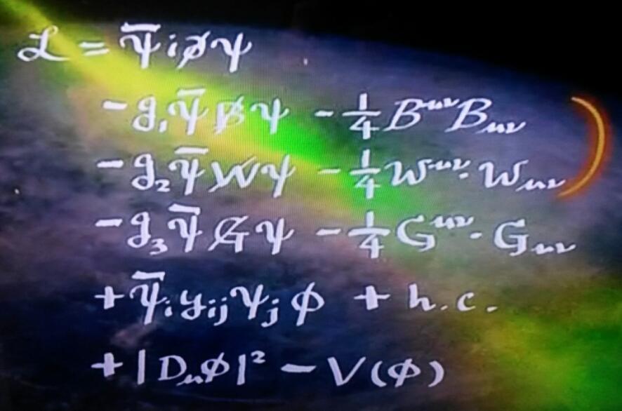 Resultado de imagen de el lagrangiano del modelo estándar