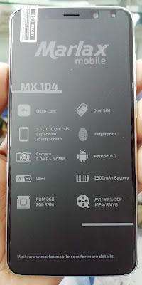 GSM ARIF: MARLAX MX104 Flash File MT6580 6 0 Hang Logo & Dead Fix