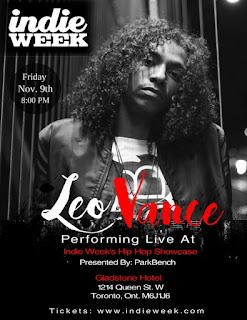 Leo Vance Takes the Stage At Indie Music Week!