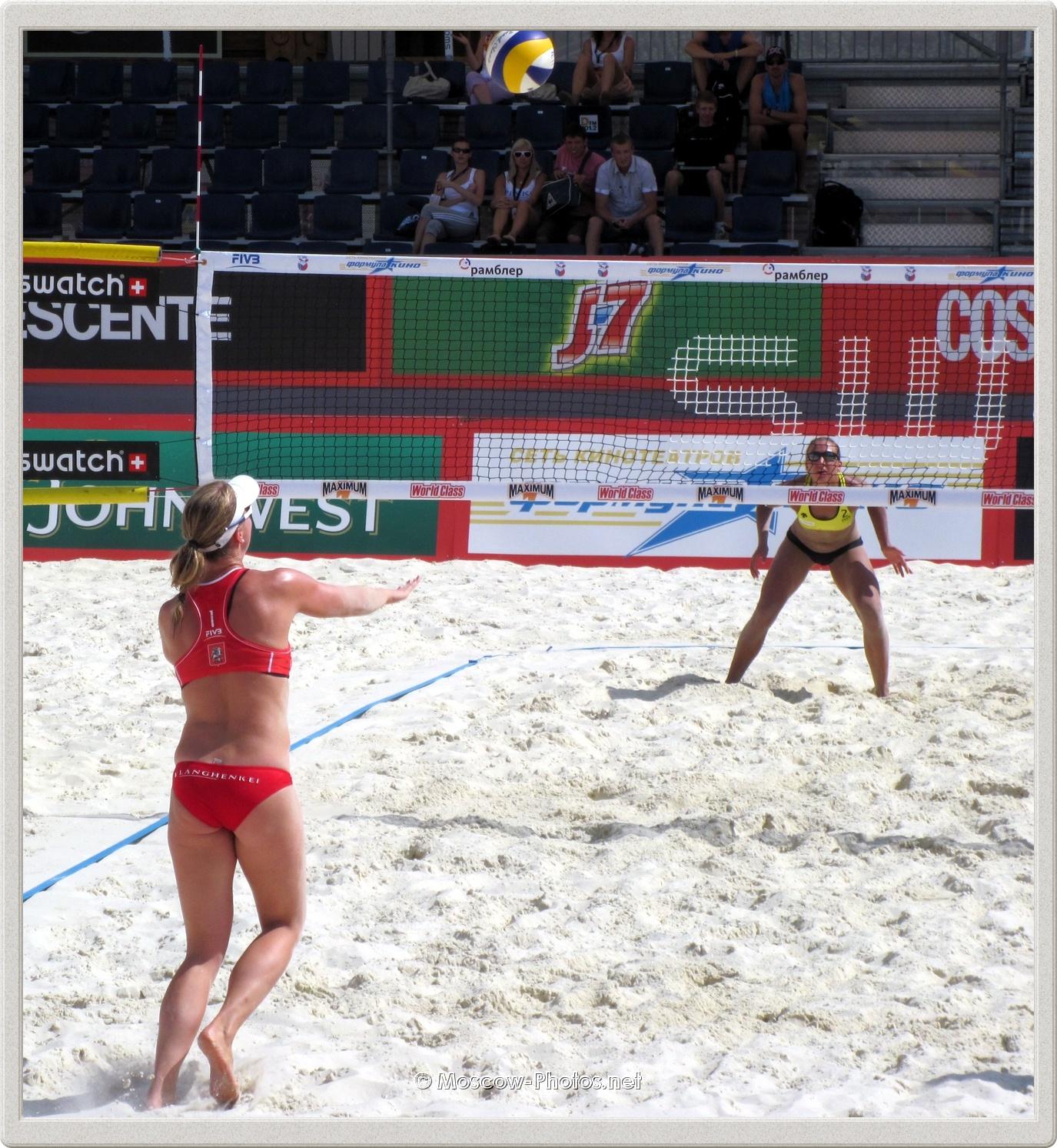 Madelein Meppelink against Tatyana Mashkova