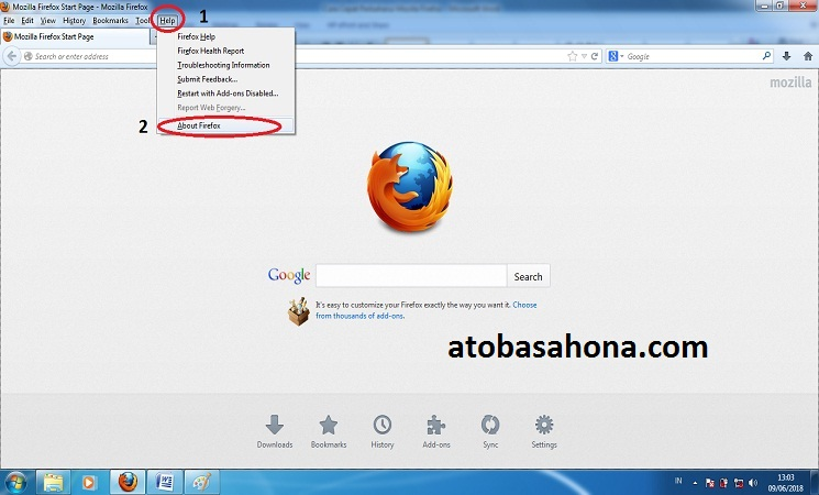 Perbaharui (Update) Mozilla Firefox