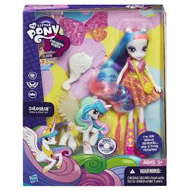 MLP Doll and Pony Set Princess Celestia Brushable Pony