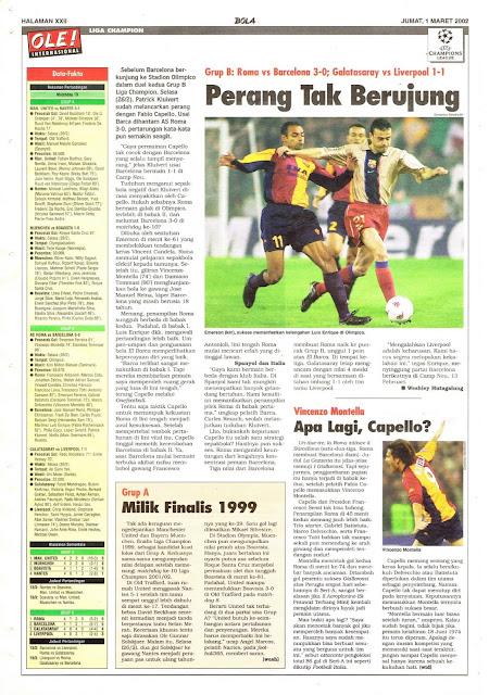 UEFA CHAMPIONS LEAGUE NEWS ROMA VS BARCELONA