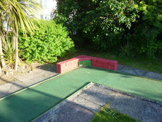 Gilmores Golf crazy golf course in Newquay, Cornwall