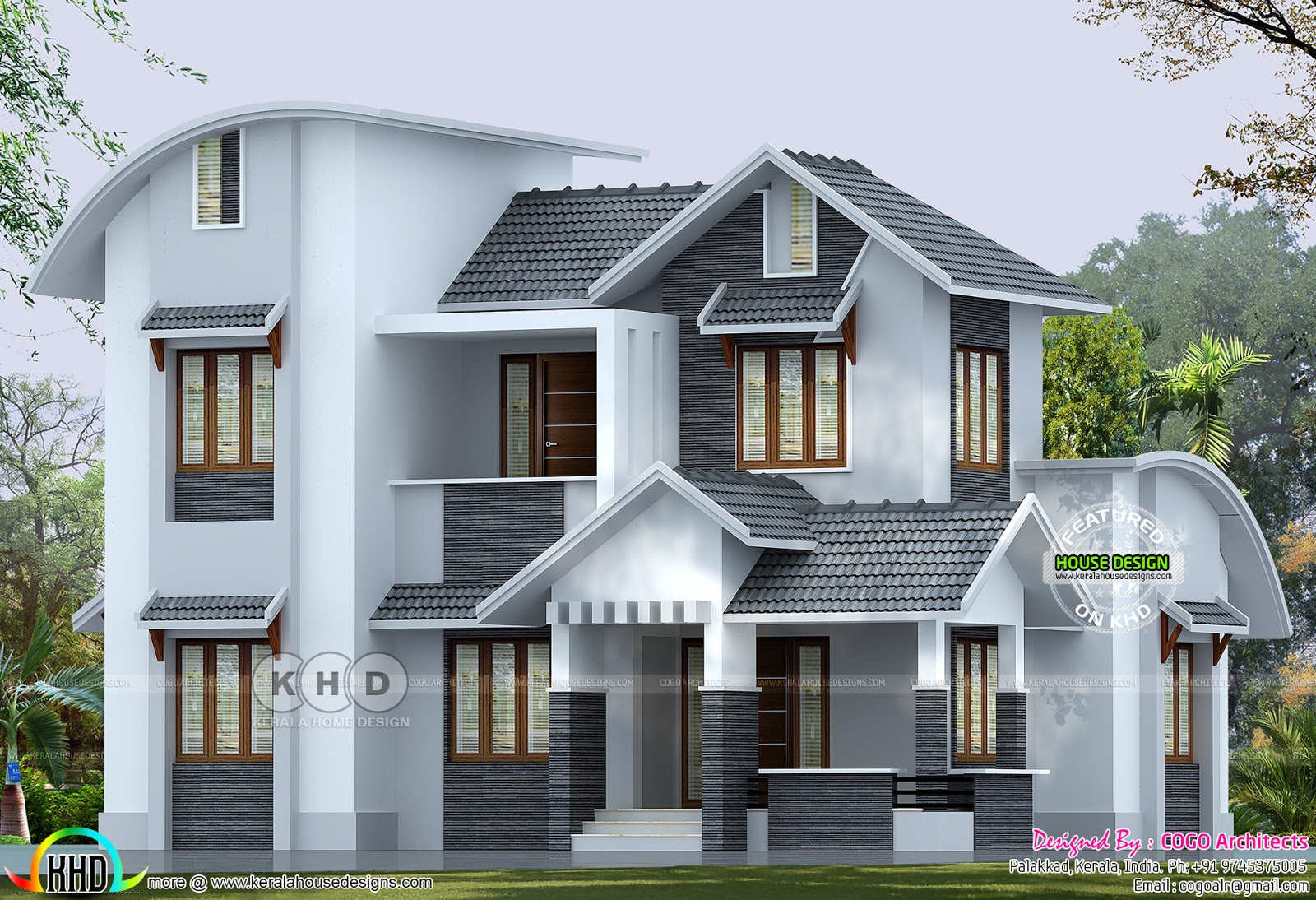 ₹35 lakhs cost estimated modern home - Kerala home design ...