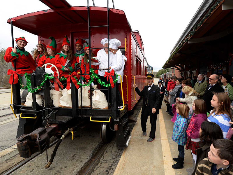a train ride to christmas town starts at stony creek ranch resort - Train To Christmas Town