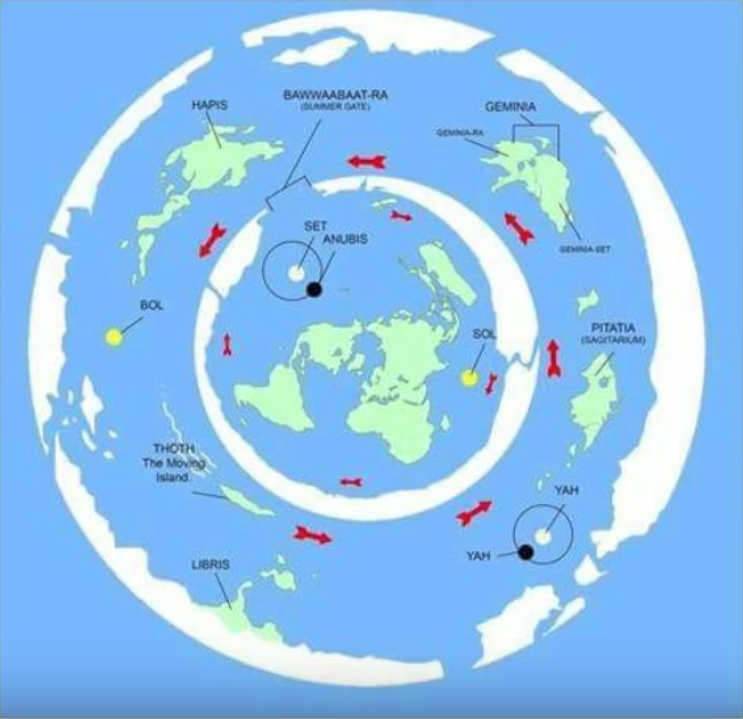 Maps of lands beyond Antartica Kfwnwbjc
