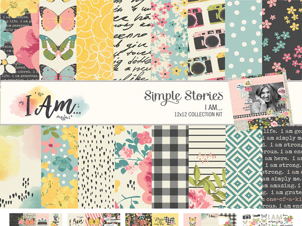 New Sping 2018 from Simple Stories: I AM