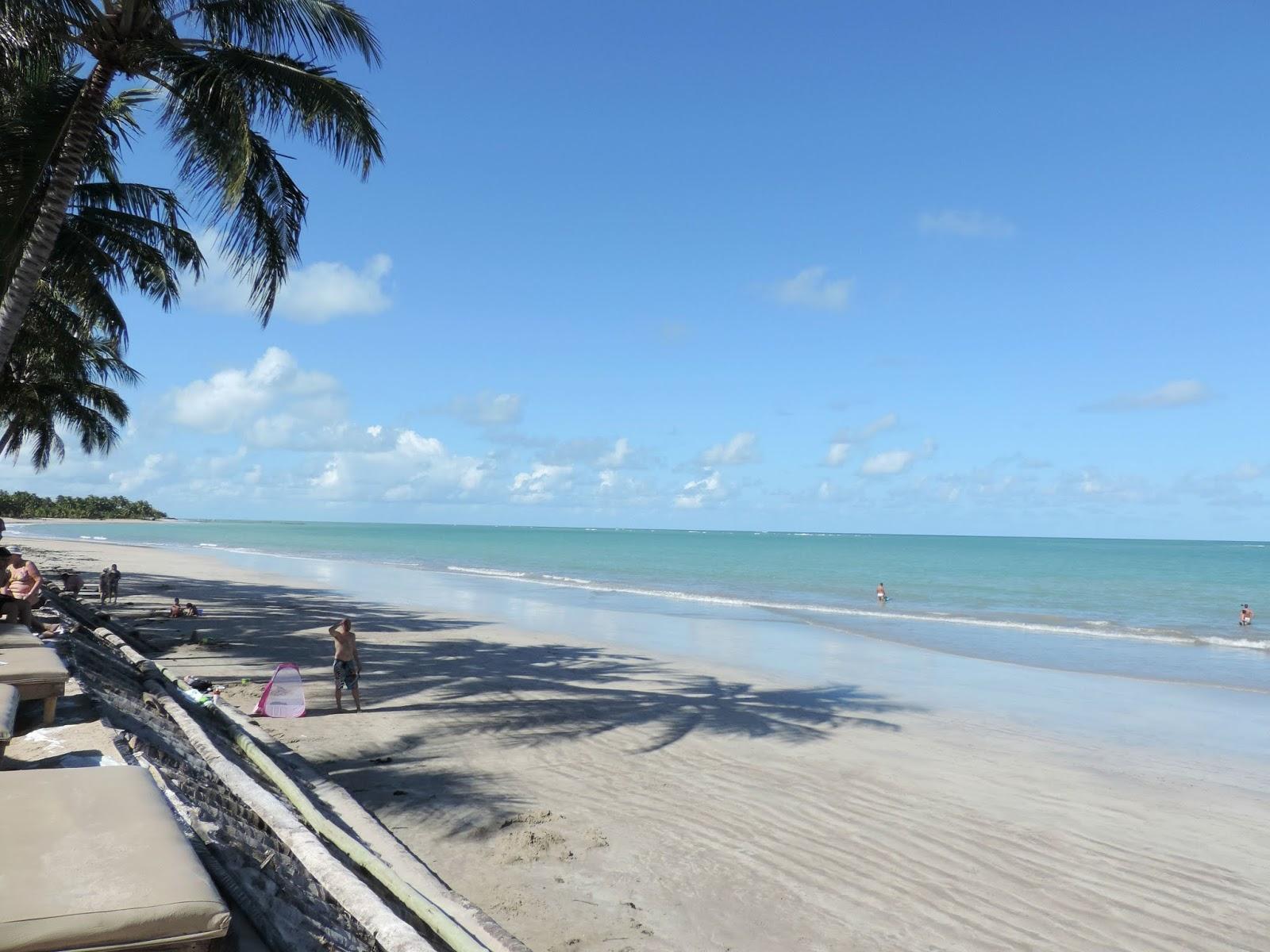 Praia do Hibiscus Beach Club em Alagoas