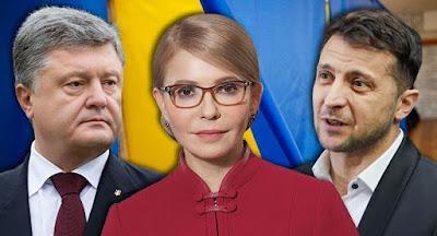 Зеленский предложил пригласить Тимошенко модератором на дебаты с Порошенко