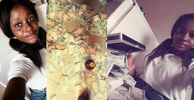 """""""I am too busy to impress haters and fake people"""" – Nigerian Lady Says, as she shows off her millions"""