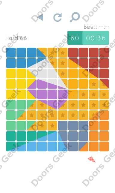 Cheats, Walkthrough for Blocks and Shapes Hard Level 66