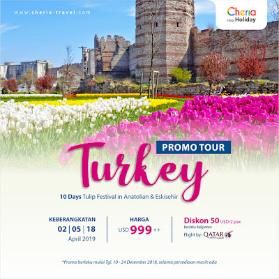 Promo Tour Ke Turki 10 Hari 2019