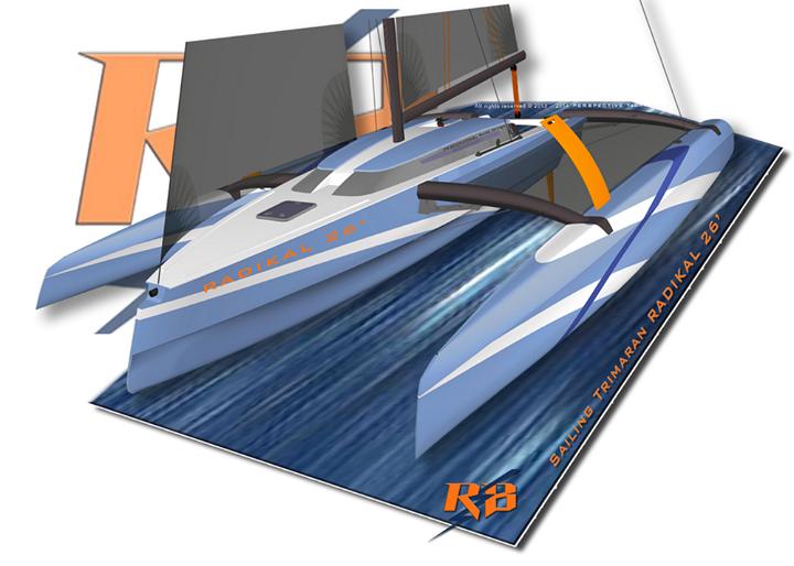 Trimaran Projects and Multihull News: Radikal T26 trimaran ...