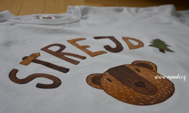30 narozeniny tričko STREJDA MÍŠA