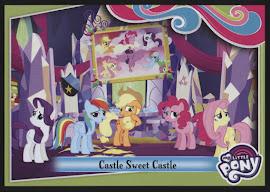 MLP Castle Sweet Castle Series 4 Trading Card